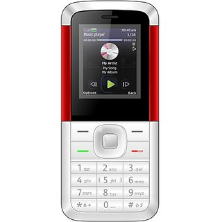 IKall K5310 (Dual Sim, 1.8 Inch Display, 1000 Mah Battery, Made In India)