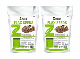 Zindagi Flax Seeds - Best Weight Loss Product - Best For Hair and Skin