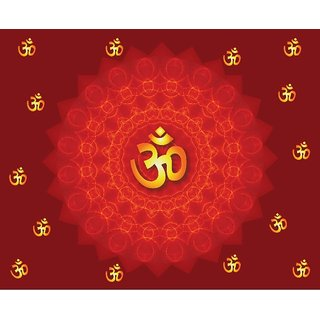 Style UR Home - OM a Scared Mantra Wall Poster - 2Ft X 2Ft