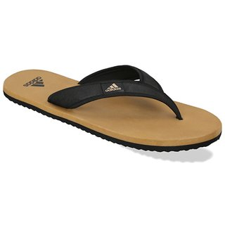 Adidas Men's khakhi Flip Flops