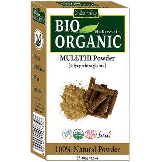 Indus Valley Organic Mulethi(Licorice) Powder For Skin