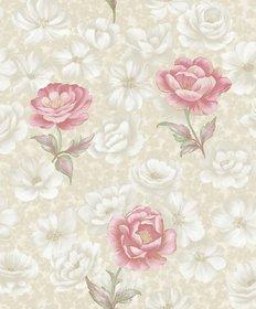 Style Ur Home - Embosssed Floral Wallpaper- 57 SqFt