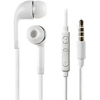 Earphone with mic 3.5 jack white