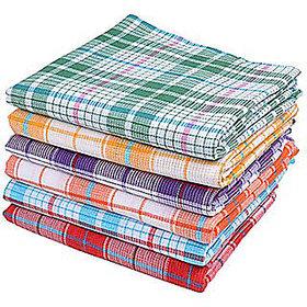 Home Cotton 1 Handloom Bathroom Linen 349 GSM Large Multicolor