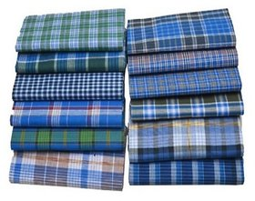 Terrycot Wear Lungi in Checked Designs
