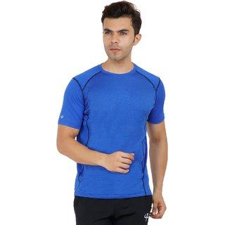 Klothoflex Royal Blue Sports Drifit Tshirt