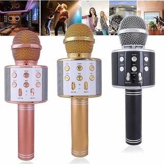 Q7 Portable Wireless Karaoke Microphone Handheld Wireless Microphone