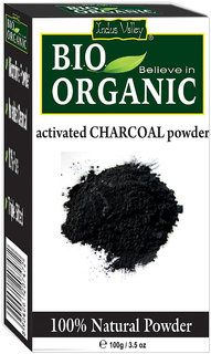 Organic Activated Charcoal Powder-Natural Blackheads Remover-Pure Carbon Powder