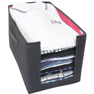 PrettyKrafts Shirt Stacker - Closet Organizer - Shirts and Clothing Organizer - ExilePink
