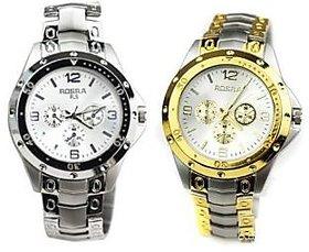 Rosra Combo of 2 Men Watches
