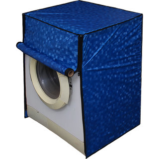 Dream Care Blue Colour with Square Design Washing Machine Cover for Fully Automatic Front Loading IFB Eva Aqua VX 6 KG