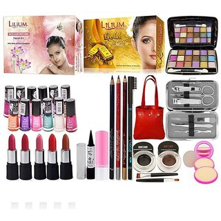 Adbeni Combo Make Up Set Pack Of 32Pcs