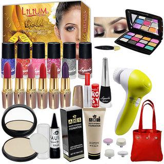 Laperla Hot Beauty Combo Makeup Sets With Eye Massager,Facial Kit ,Eyeshadow Etc