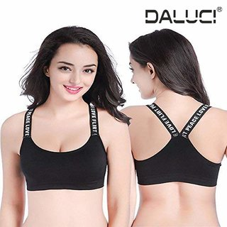 d35c20e27d11e Buy Fashion New Women s Yoga Stretch Workout Seamless Padded Sports Bra  Online - Get 43% Off