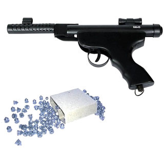 Prijam Air Gun Btpm For Perfect Target Practice With 300 Pellets  And 1 Cover