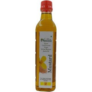 Farm Naturelle-1 Virgin Cold Pressed Kachi Ghani Mustard Oil (415Ml)