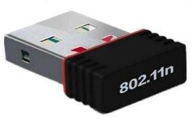 Wi-Fi Receiver 300Mbps, 2.4GHz, 802.11b/g/n USB 2.0 Wireless Mini Wi-Fi Network Adapter by S4