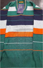 Mens V-neck Full Sleeve Sweater  (Only M Size)