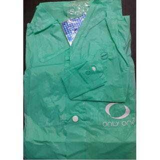 Ladies Plain Raincoat  (48 Inches)