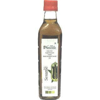 Farm Naturelle (Farm Natural Produce) Organic Virgin Cold Pressed Sesame Seed Oil - 415 Ml