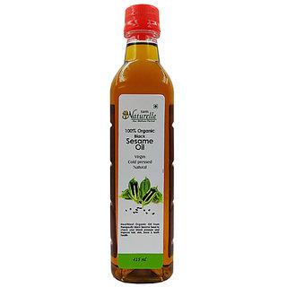 Farm Naturelle (Farm Natural Produce) Organic Virgin Cold Pressed Sesame Seed Oil - 415 Ml