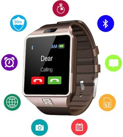 JM's Dz09 Square Unisex Smart watch With Sim and With Bluetooth