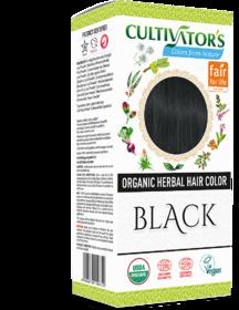 Cultivator's Organic Herbal Hair Color - Black