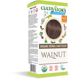 Cultivator's Organic Herbal Hair Color - Walnut