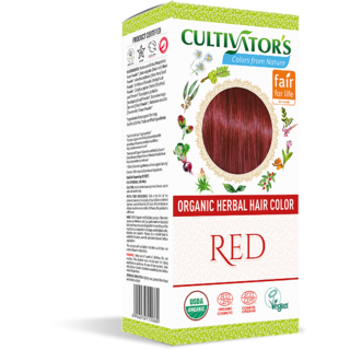 Cultivator's Organic Herbal Hair Color - Red
