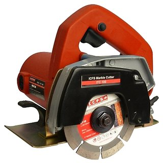 ICFS ITC100E1 Professional Tile / Wood / Marble Cutter, 4 inch, 100 mm, 1000w, 12000rpm