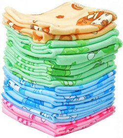 Aashish collection pack of 10 cotton face towel