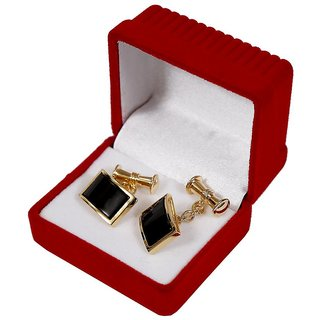 Copper Cufflink Plating Gold