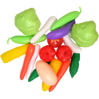 Toy vegetables set