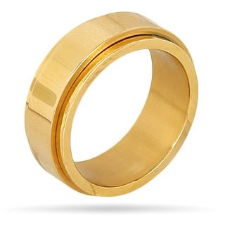 Stainless Steel Ring Gold