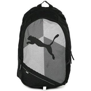 Puma Echo Plus 15 L Backpack  Black White  Bag Backpacks