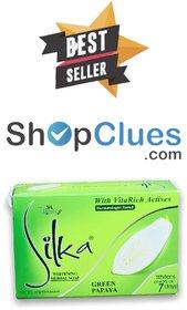 Silka Green Papaya Whitening Soap 135g (Pack Of 1)