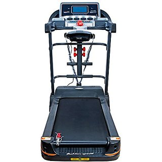 Healthgenie 6in1 Motorized Treadmill 4612A with Massager, Sit-ups, Tummy  Twister, Dumbbells, Silicon Oil 550ml