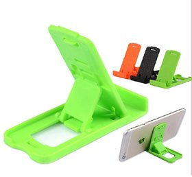 KSJ Small Plastic Mobile Holder For Mobile & Tablet  (Assorted Colors)