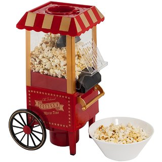 Godskitchen Electrics OFP-501 Vintage Collection Stainless steel high quality Hot Popcorn Maker Machine