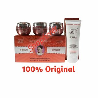 Shopfever Jiaobi Whitening And Moisturising Set Best Herbal Whitening Cream