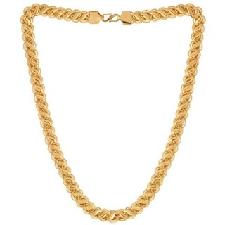 Gold Plated Stainless Steel Chain FOR MEN  WOMEN BY SHREE EXIM