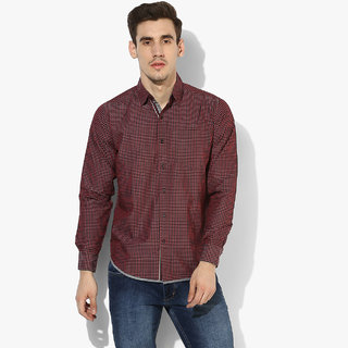 Red Chief Textured Full Sleeve Men's Casual Shirt(8110287 091)