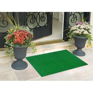 STATUS Nano Nylon Door Mat Green 15 x 2 Inch 1PC - Set of 1