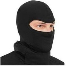 Pack of 1 Carpoint Black Washable Full Face Mask for Winter