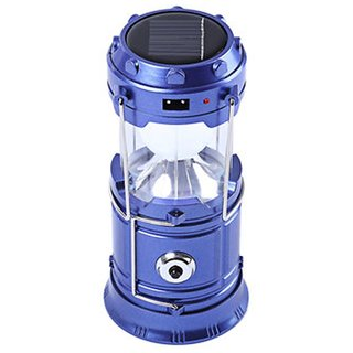 LED Solar Rechargeable 6-9 W Torch Light/ Emergency Lamp (Assorted Colors)