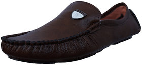 Men's Brown Synthetic Loafer
