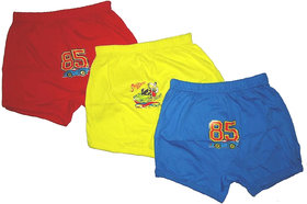 Little Baby Bloomers Multicolour For Boys Pack of 3 pcs