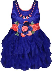 Princeandprincess Girl Blue Party Dress