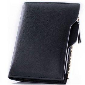 bogesi genuine black leather wallet