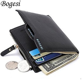 bogesi genuine leather wallet
